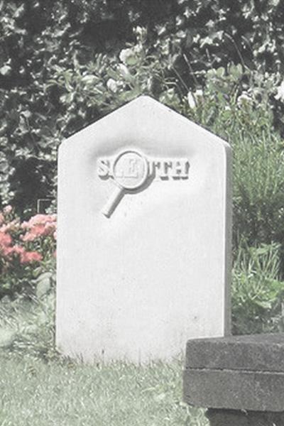 Sleuth gravestone